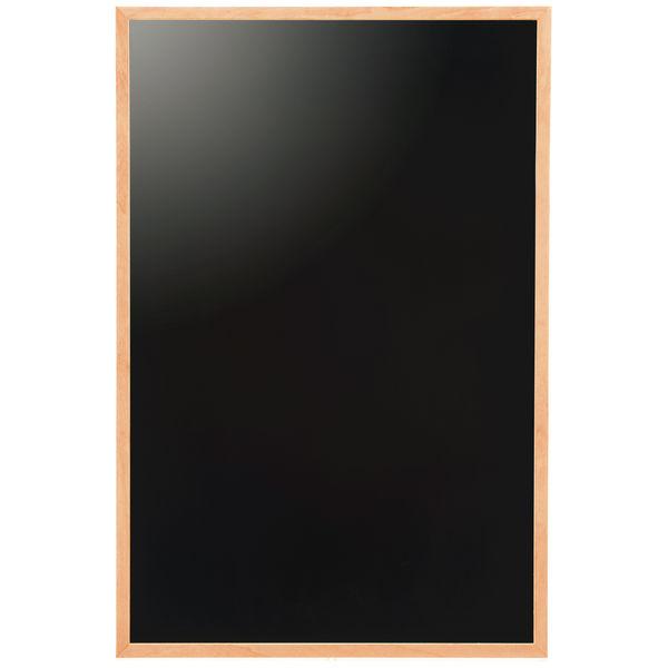 「現場のチカラ」ブラックボード A2 ナチュラル マグネット使用可 アスクル