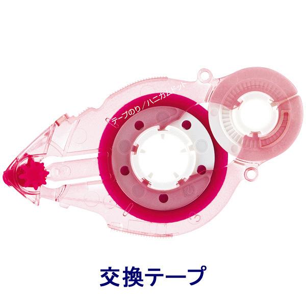 プラス テープのり スピンエコハニカム 16m 交換テープ ピンク 38488 1箱(30個入)