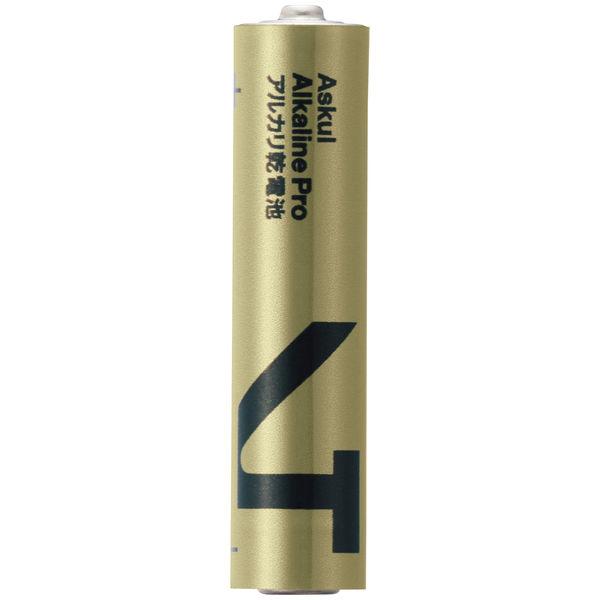 アスクルアルカリ乾電池PRO単4 4本