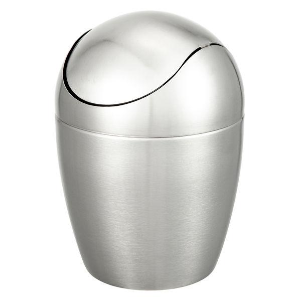 ステンレスふた付ゴミ箱 1セット(3個)