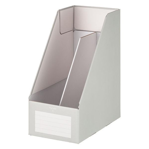 ファイルボックスA4ワイド グレー 5個