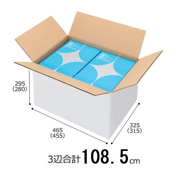 白ダンボール A3×高さ295mm 1梱包 10枚