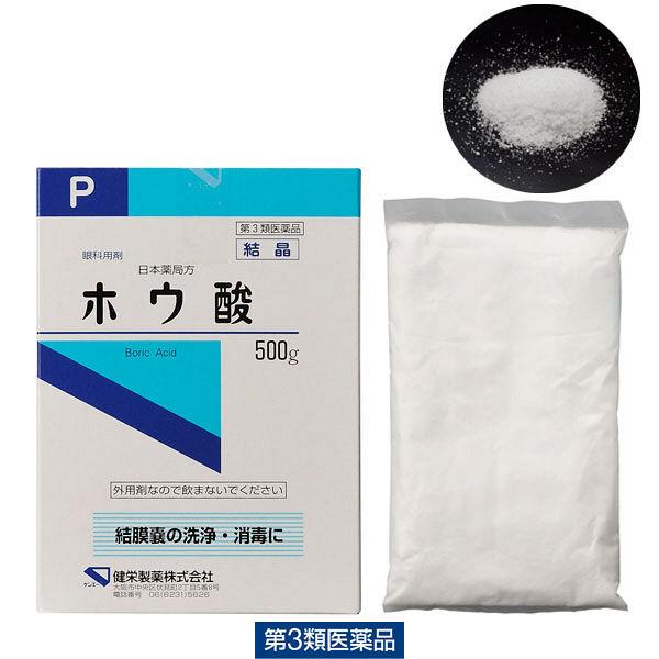 ホウ酸P結晶 500g