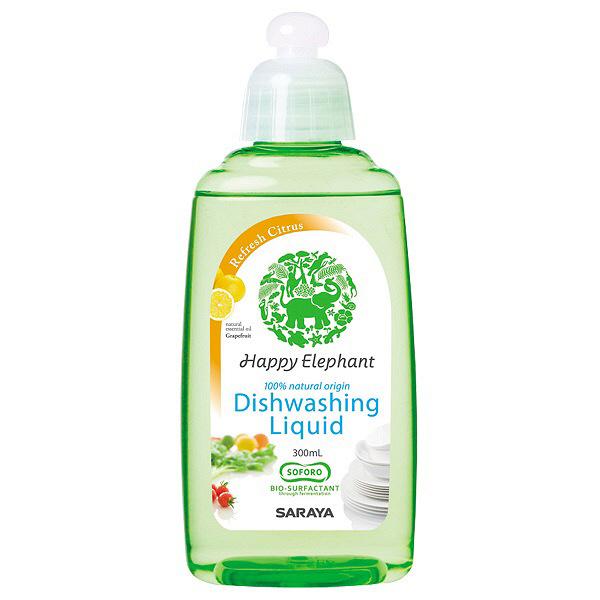 ハッピーエレファント野菜食器用洗剤GF