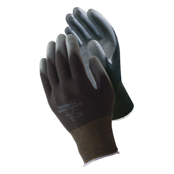ショーワグローブ B0500 パームフィット Sサイズ ブラック B0500SB