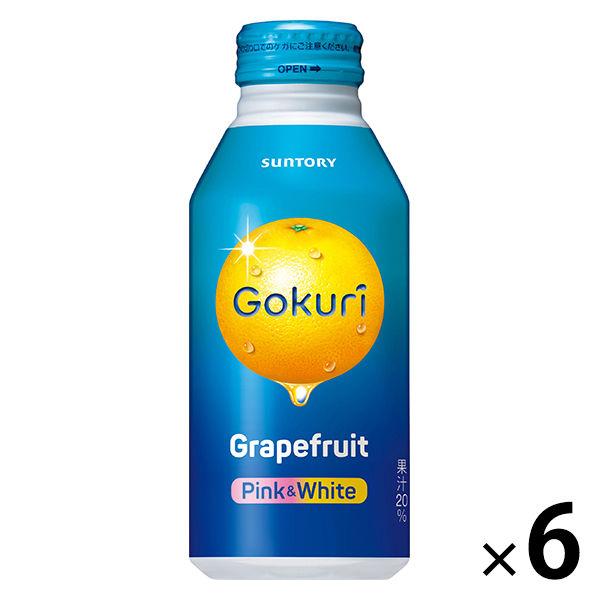 ゴクリ グレープフルーツ400g 6缶