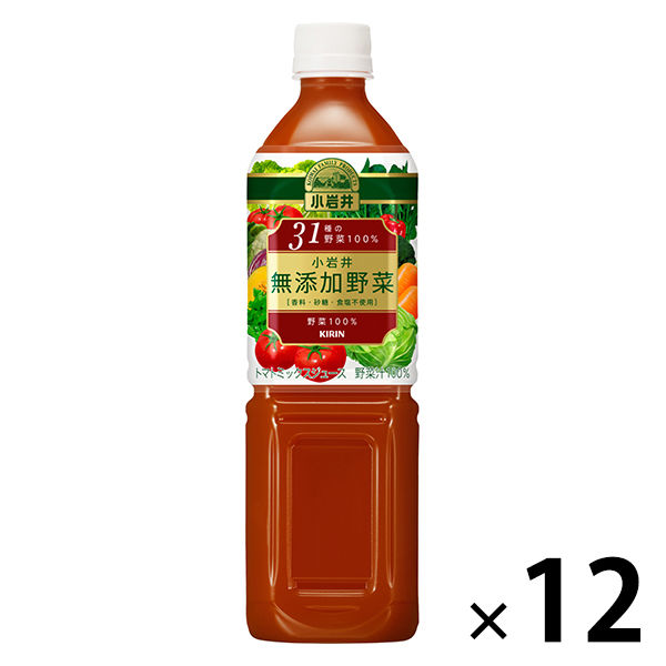 小岩井 無添加野菜31種 12本