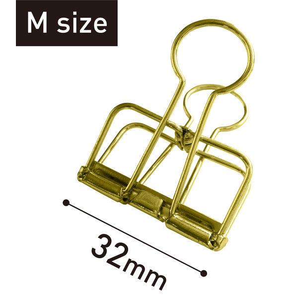 リーンクリップ ゴールド M 10個
