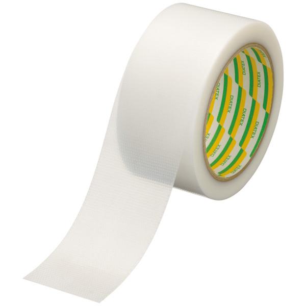 パイオランクロステープ eco BP 0.14mm厚 50mm×25m巻 白(半透明) EBP 1セット(5巻:1巻×5) ダイヤテックス