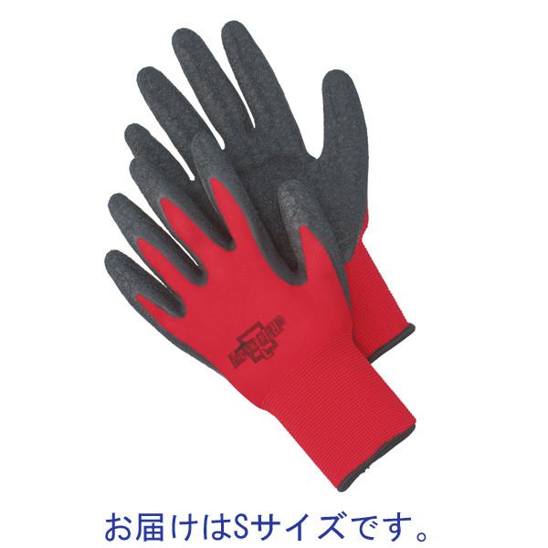 川西工業 マッドグリップ レッド #2535S Sサイズ 1双
