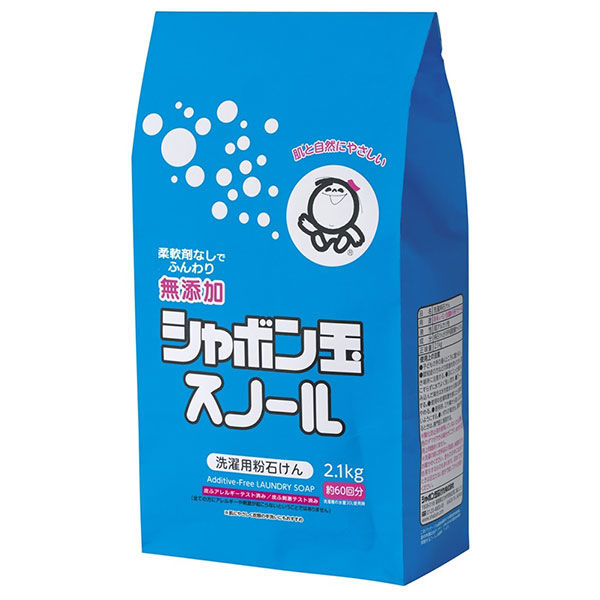 シャボン玉スノール粉石けん袋入2.1kg