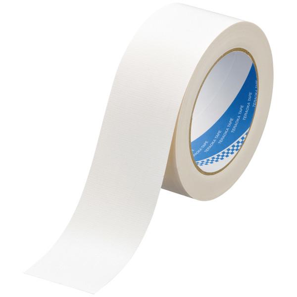 カラー布テープ No.1535 0.20mm厚 50mm×25m巻 白 1箱(30巻入) 寺岡製作所