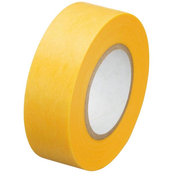「現場のチカラ」マスキングテープ 18mm 1箱(70巻:7巻入×10パック) カモ井加工紙