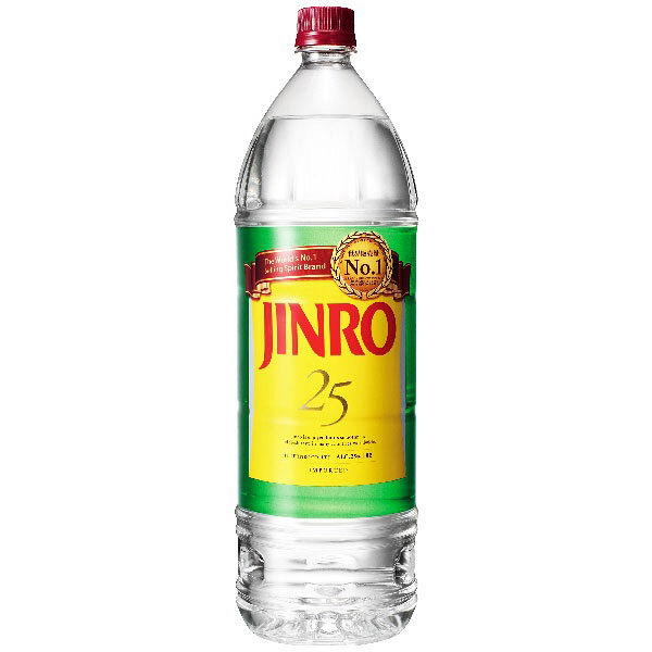 ジンロ 25度 1.8L 1本