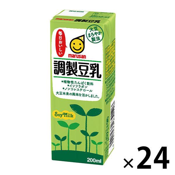 調製豆乳 200ml 24本