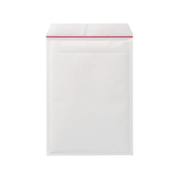 クッション封筒 ジェットメイラー A4サイズ用 白 無地 封緘シール付 1箱(100枚入) ユニオンキャップ
