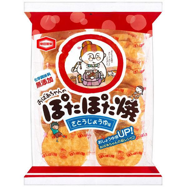 亀田製菓 ぽたぽた焼 22枚 1袋
