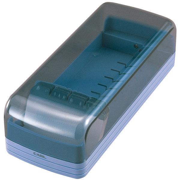 カール事務器 名刺ホルダー 800名用 ブルー NO.870E 1セット(5個入)