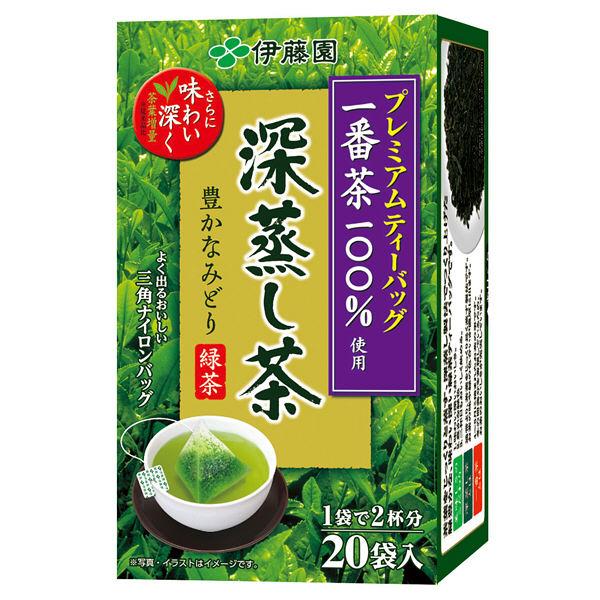 伊藤園 プレミアムティーバッグ 深蒸し茶
