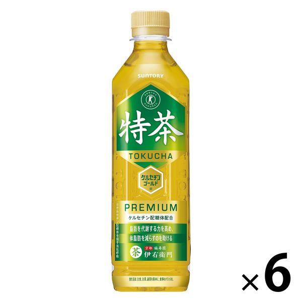 【トクホ・特保】伊右衛門 特茶 6本