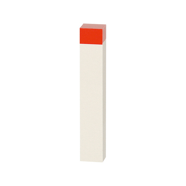 スリーエム ポスト・イット(R)ふせんハーフ 75×12.5mm ホワイト/レッド 20冊  (直送品)