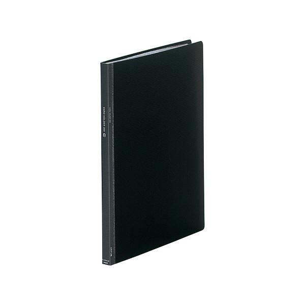 リヒトラブ カードホルダーSEIHON A4S 16mm 黒 A4104-24 (直送品)