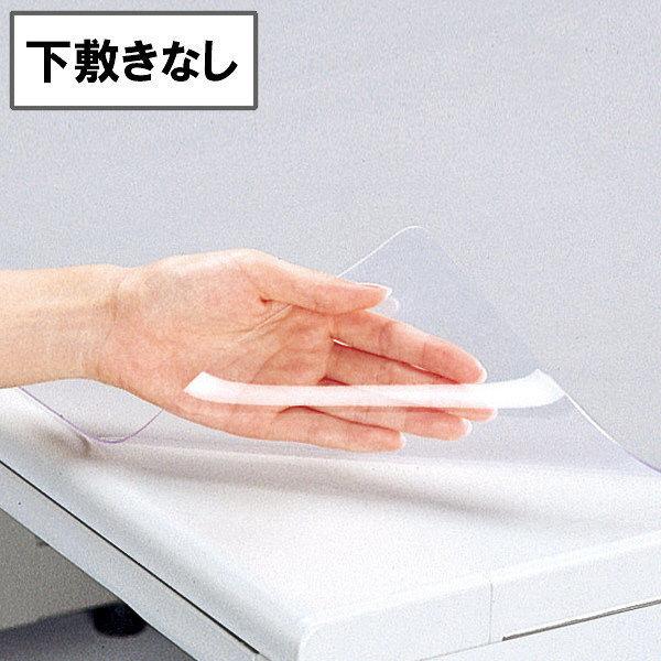 プラス 塩ビデスクマット DM-167 (直送品)