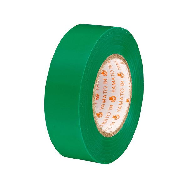 ヤマト ビニールテープ NO200 19mm×10m 緑 NO200-19-4 (直送品)