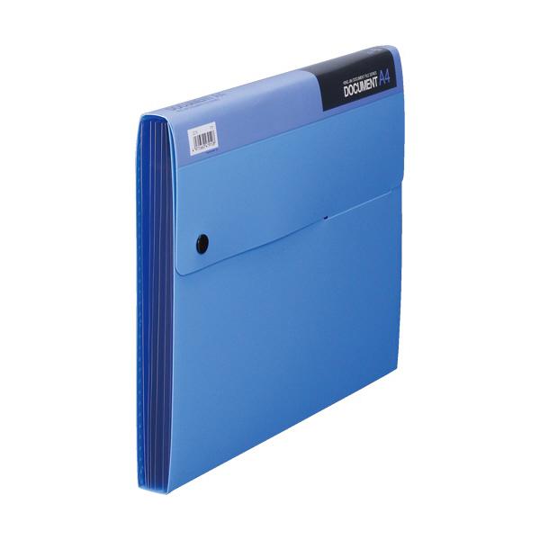 キングジム ドキュメントファイル 2270 A4 21mm 青 2270アオ (直送品)