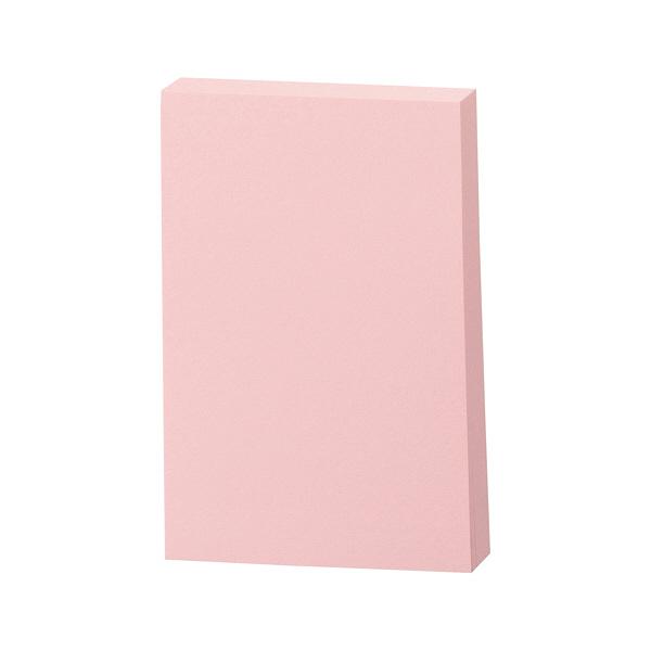 スリーエム Post-it 再生紙ノート ピンク 656RP-PN 1パック(100枚入) (直送品)