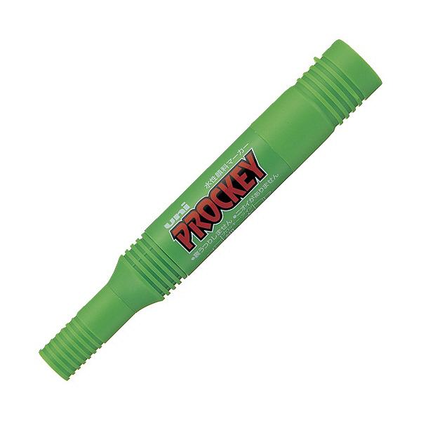三菱鉛筆 プロッキー 太細 黄緑 PM150TR.5 (直送品)