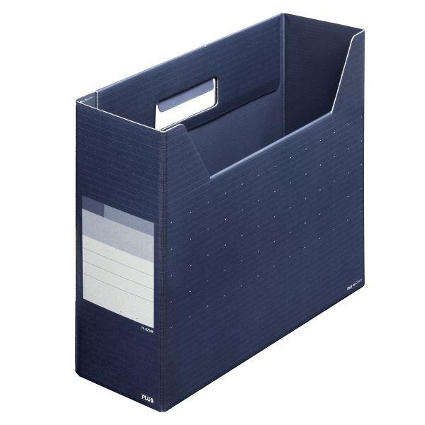 プラス ボックスファイル レギュラー NVB FL-023BF (直送品)