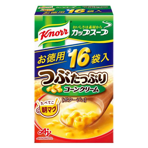 つぶたっぷりコ-ンクリーム1箱(16袋)