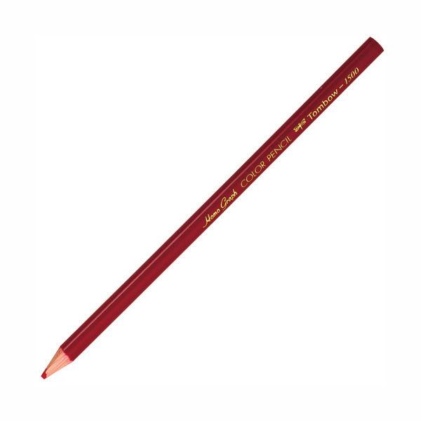色鉛筆(単色) 赤 12本(直送品)
