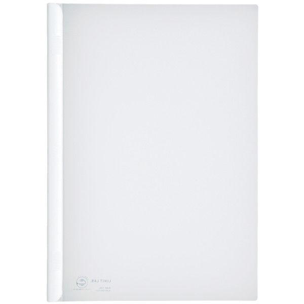スライドバーファイル A4タテ 50枚とじ 100冊 白 リヒトラブ G1730-0