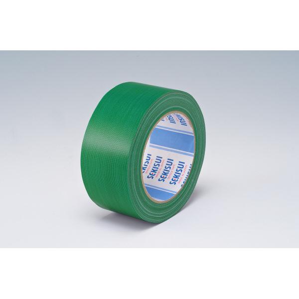 カラー布テープ No.600V 0.22mm厚 50mm×25m巻 緑 N60MV03 1箱(30巻入) 積水化学工業