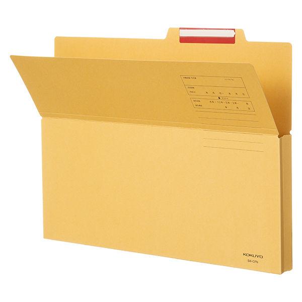 コクヨ 持ち出しフォルダー B4 B4-CFN 1箱(100枚:10枚入×10袋)