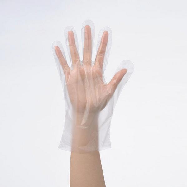 使いきりHDポリエチレン手袋 L1セット