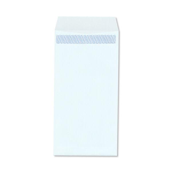 ハート 透けない封筒 カラー テープ付 長3〒枠あり ブルー XEP271 1000枚(100枚×10袋)