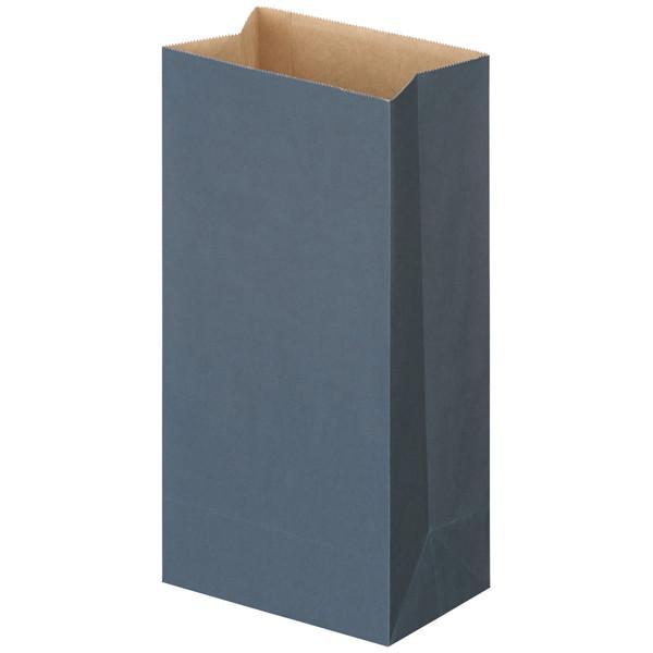 カラー角底袋 青 8号