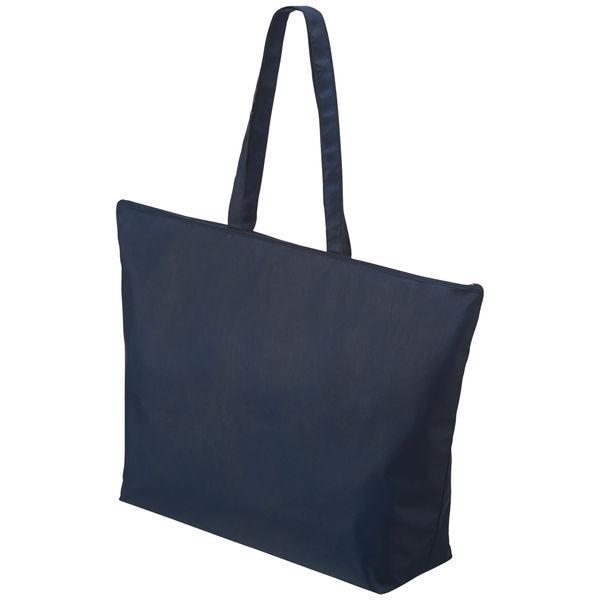 不織布手提げ袋 ブルー 大 100枚