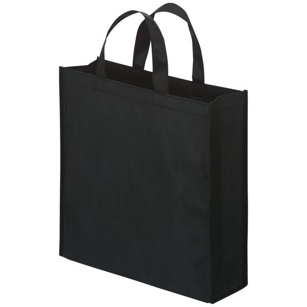 不織布手提げ袋 ブラック 小 100枚