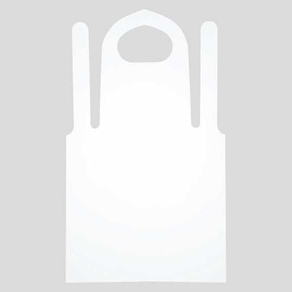 「現場のチカラ」 伊藤忠リーテイルリンク 使い切りポリエプロン 1セット(300枚:100枚入×3箱)