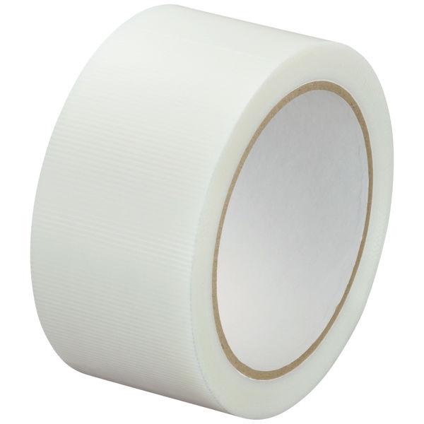 寺岡製作所「現場のチカラ」 貼ってはがせる養生テープ 1902 弱粘着 半透明 幅50mm×25m巻 1セット(150巻:30巻入×5箱)