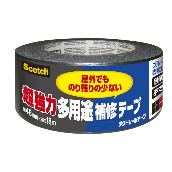 スリーエム ジャパン 超強力多用途補修テープ 48mmx18m DUCT-NR18 1巻