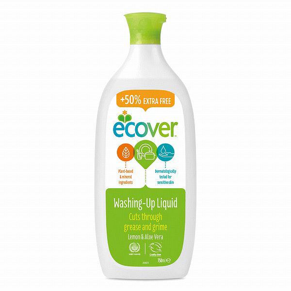 数量限定 エコベール 食器洗剤レモン増量