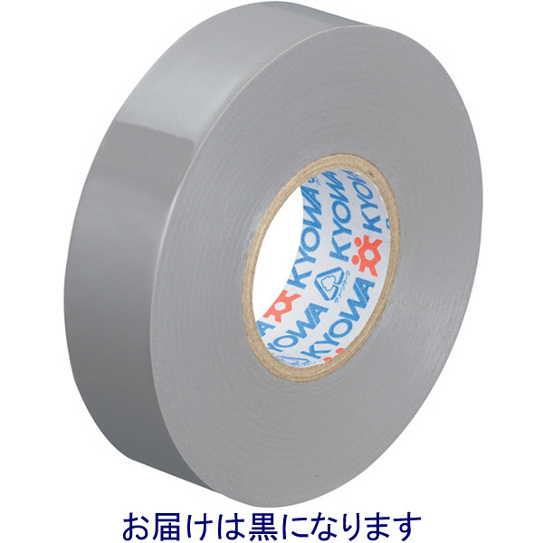 共和 ミリオン 電気絶縁用ビニルテープ 黒 19mm×20m巻 HF-537-C