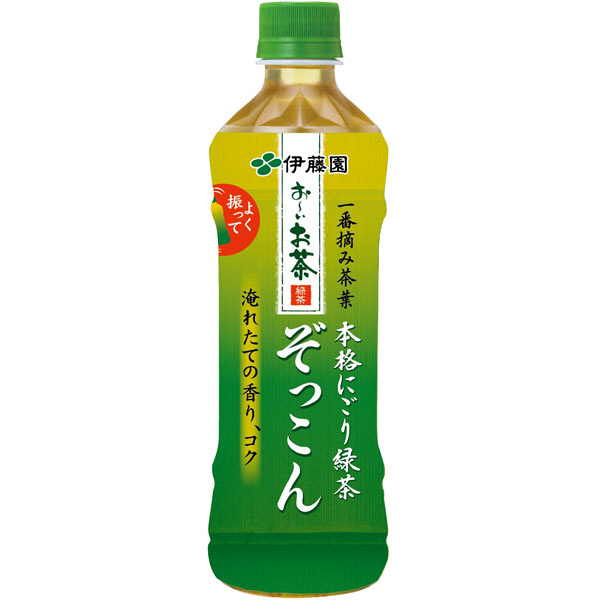 おーいお茶ぞっこん 500ml(48本)