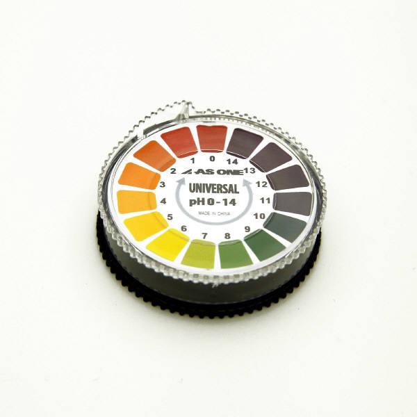 アズワン pH試験紙 pH0-14 1巻