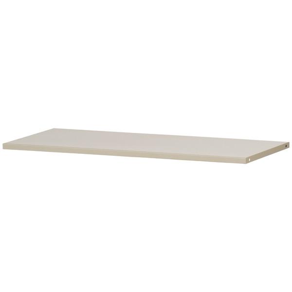 Ceha A4スチール書庫 追加棚板 オープン・両開き専用 ライトグレー 1枚 (取寄品)